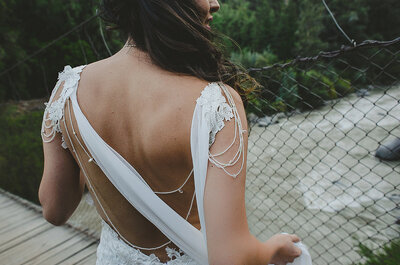 Diferencia entre estos ocho tonos de blanco de los vestidos de novia. ¡Aprende a distinguirlos!