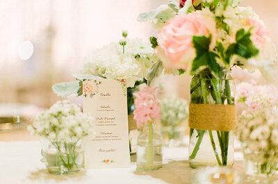 Erros no seu menu de casamento? Descubra 5 formas de os evitar
