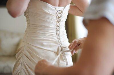 Addio superstizione: ora l'abito da sposa lo si sceglie con lui!