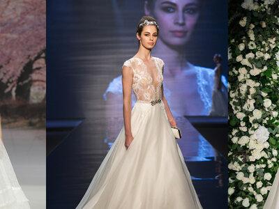 Los 7 más espectaculares escotes de vestidos de novia 2017. ¡Inspírate y elige el tuyo!