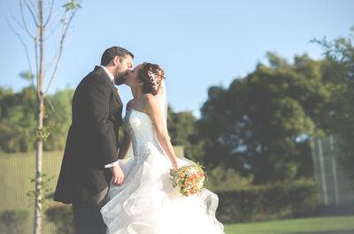 El amor hace que todo crezca: Así fue la encantadora boda de Karen y Omar... ¡Wow!