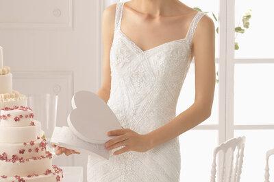 Dekolty w sukniach ślubnych w najnowszej kolekcji Aire Barcelona!