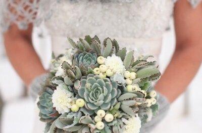 Qual o buquê de noiva ideal para o inverno em 2015?