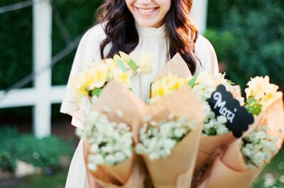 4 detalles DIY que puedes hacer tú misma para la boda: ¡Manos a la obra!
