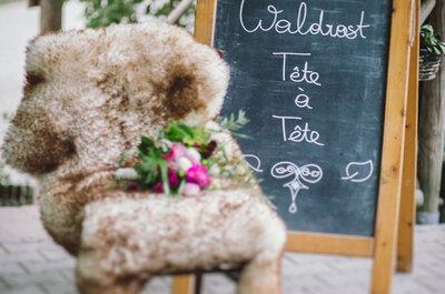 Hochzeitsinspiration aus dem magischen Wald!