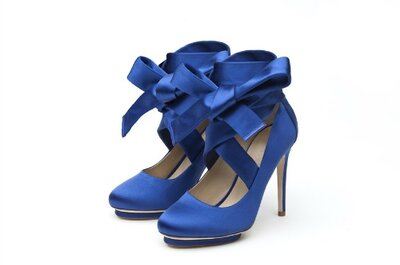 Luxurious and high fashion shoes for brides by Liam Fahy