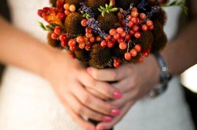 6 niebanalnych bukietów na Twój jesienny ślub