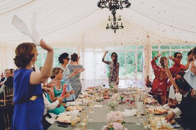 Cómo organizar una boda con invitados de fuera: 7 ideas que te sacarán de cualquier apuro