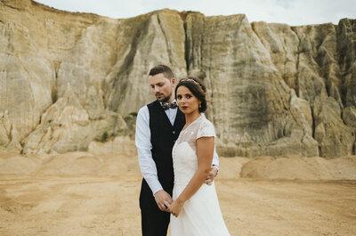 15 fotógrafos perfectos para un reportaje de boda natural