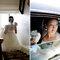 La novia con un look muy natural y un vestido estilo princesa