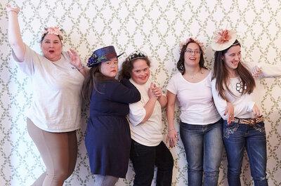 Día Mundial del Síndrome de Down: Una fiesta de belleza para chicas mágicas