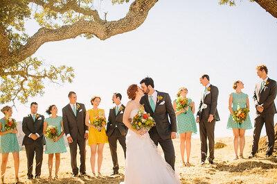 La foto de la semana: una boda campestre y colorida