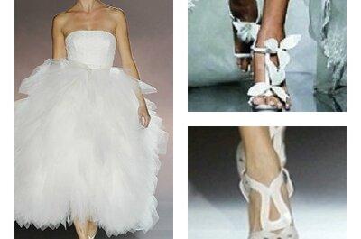 Tendenze scarpe da sposa 2013: ecco le proposte che vi porteranno all'altare