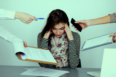 Cuatro técnicas para relajarte y reducir el estrés de la organización nupcial