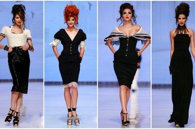 Jean Paul Gaultier en Colombia: vestidos para invitadas