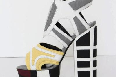 Zapatos de fiesta modernos colección Rodarte 2013