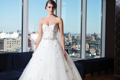 Justin Alexander Signature: la collezione 2014 per la sposa più romantica