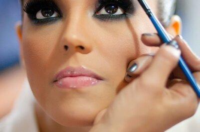 Perfekte Augenbrauen für das Hochzeits-Make up
