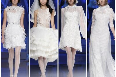 Due giacche alternative per la sposa 2013