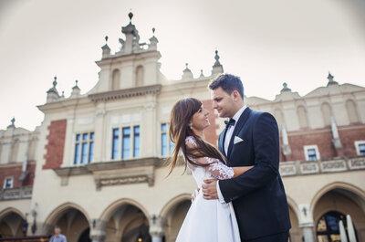 Magiczny Kraków był świadkiem ślubu Magdy i Mateusza!