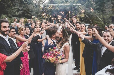 Casamento boho chic de Ana & Leonardo: tapetes, crochê, muito verde e flores coloridas deram o tom!