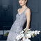 Elegancka krótka suknia na wesele, Foto: Rosa Clara 2015