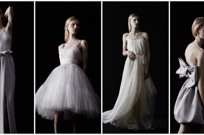High fashion bridal looks from Lanvin Blanche 2014