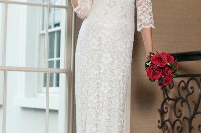 Panna Młoda w ciąży! Prezentujemy najpiękniejsze suknie ślubne dla ciężarnych kobiet!