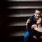 Fotografía casual en pareja de Dani y Jorge en Casa Pedro Loza