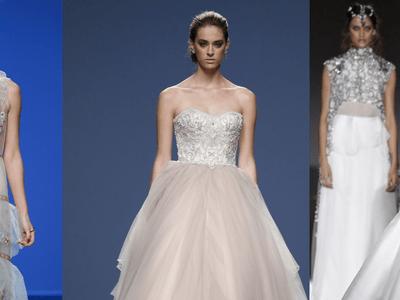 Vestidos de novia a color para el 2016: Los modelos que te harán soñar con el gran día