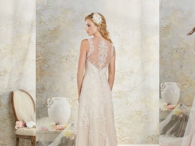 Colección Modern Vintage: vestidos de novia de Alfred Angelo para una mujer moderna, ¡arriesga y gana!