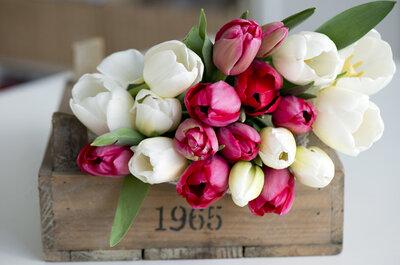 Noivas que amam tulipas: como incluir essas flores tão especiais no seu casamento?