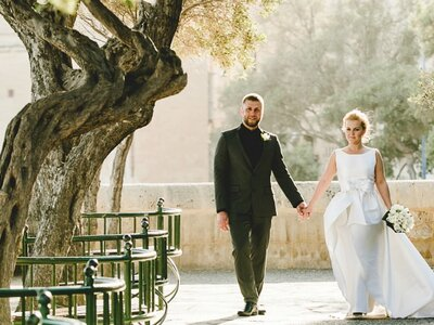 True Love like no other: The gorgeous Destination Wedding in Malta of Julia and Artur!