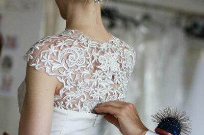 Mise en beauté de la mariée par Oscar de la Renta