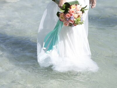 Un matrimonio tra i colori dell'estate alle Terme di Saturnia