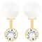 Unos pendientes con baño de oro y perlas son el mejor regalo este 10 de mayo - Swarovski