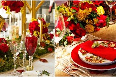 Casamentos inspirados nas cores e decoração natalina