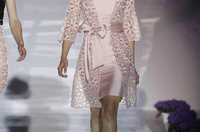 Vestidos de festa rosa suave: para convidadas delicadas