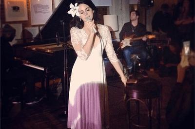 Vestido de novia inspirado en el look de Lana del Rey