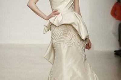 Vestidos de noiva com peplums: tendência 2013