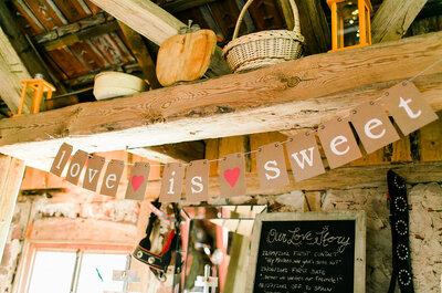 Hochzeitsdekorationen mit Bändern & Girlanden: Trendige Ideen für ein traumhaftes Fest