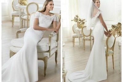 7 vestidos de novia de Pronovias: las tendencias
