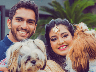 The Vintage Garden themed Engagement of Priyanka and Sarvajit is all set to blow your mind