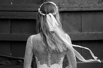 Collezione sposa Jesús Peiró 2015 Perfume: la magia del poetico