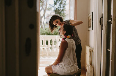 Las cosas que piensan todas las novias en sus pruebas de maquillaje, ¡al descubierto!