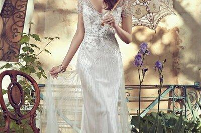 Vestidos de noiva perfeitos para uma cerimónia civil em 2016. Surpreenda-se!