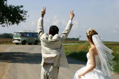 Contrata un autobús para tu boda y aprovecha un sinfín de facilidades