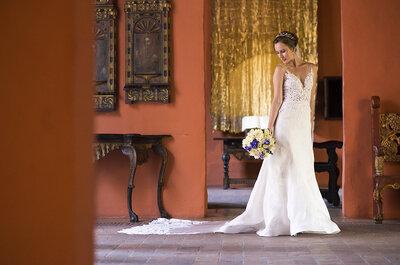 6 vestidos de novia para 6 estilos de mujer