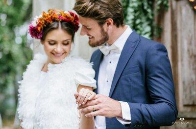 Conheça 6 tipos de noivas diferentes: qual é o seu?