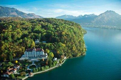 Mariage en Haute-Savoie : les pieds dans l'eau et la tête dans les étoiles !